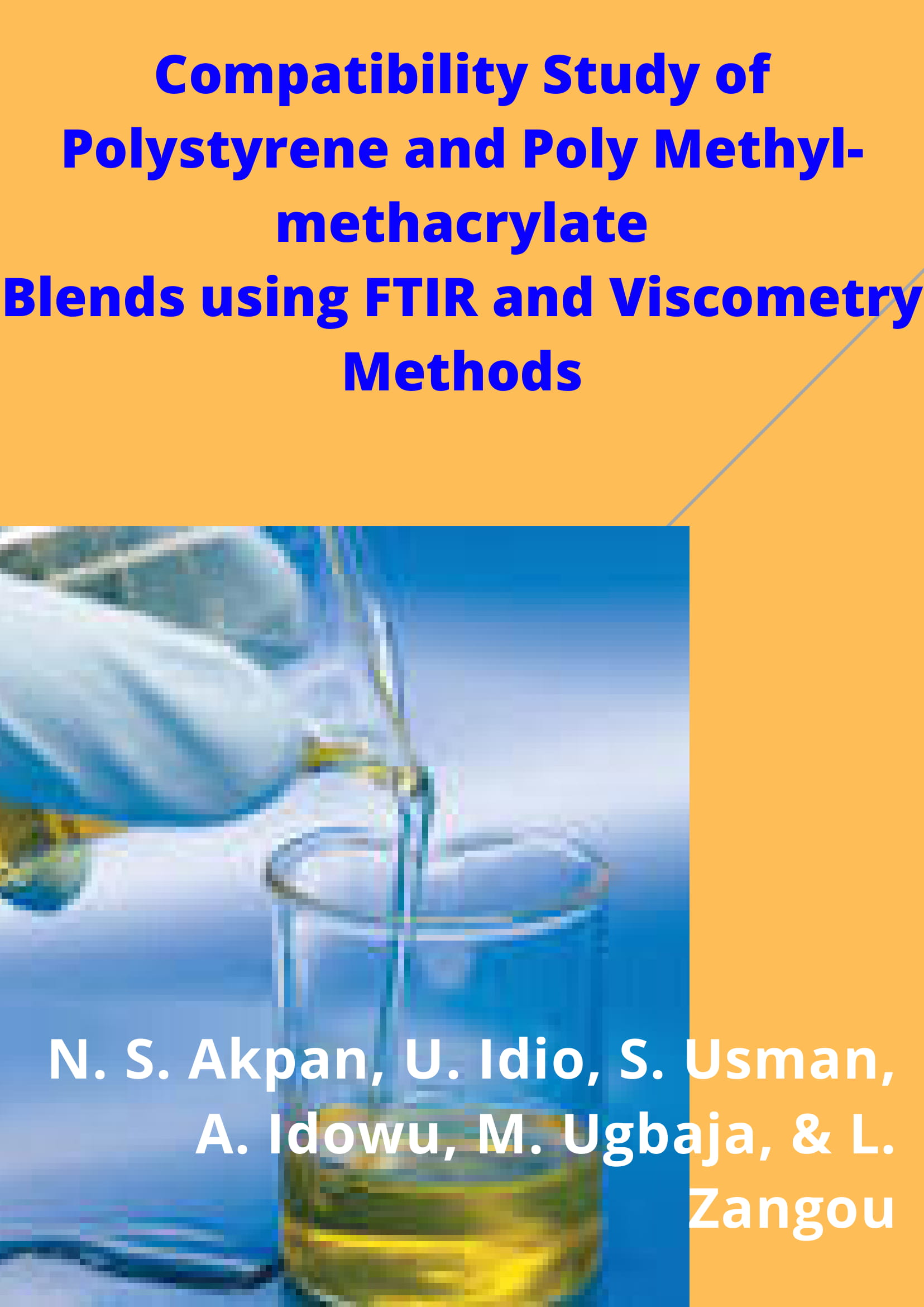 Compatibility Study of Polystyrene and Poly Methyl-methacrylate Blends using FTIR and Viscometry Methods Image