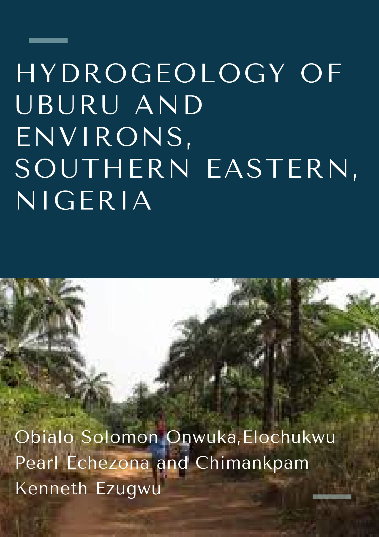 Hydrogeology of Uburu and Environs, Southern Eastern, Nigeria image