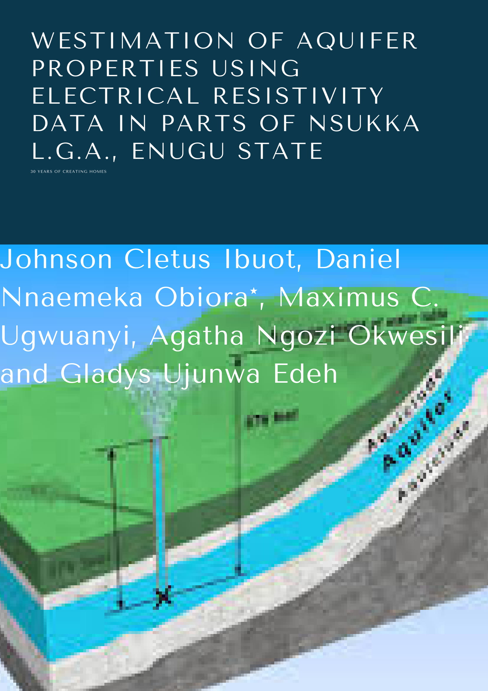 Estimation of aquifer properties using electrical resistivity data in parts of Nsukka L.G.A., Enugu State image